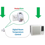 HeaterMate Plug-in Thermostat - Save Power