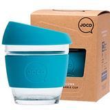 JOCO Glass Cup Small 8oz/236ml Blue